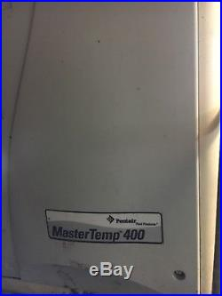 PENTAIR 400K BTU MasterTemp Natural Gas Swimming Pool Spa Heater (Used)