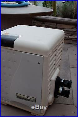 PENTAIR MASTER TEMP 200,000 BTU GAS POOL SPA HEATER 460730 low NOx EFFICIENCY
