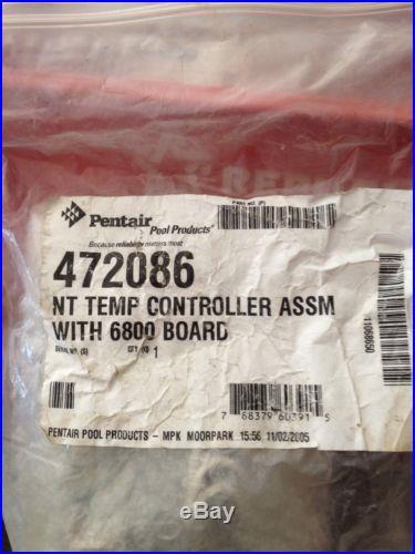 Pentair Minimax Nt Heater Temperature Controller Assy W