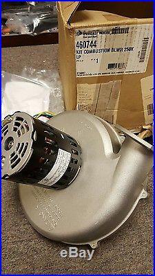Pentair 460744 Combustion Air Blower Propane 250k Btu Lp