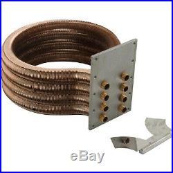 Pentair 460747 MasterTemp Tube Sheet Coil Assembly