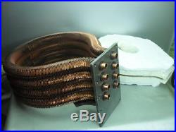 Pentair 460747 Tube Sheet Coil Assembly MasterTemp 250NA & LP Pool Spa Heater