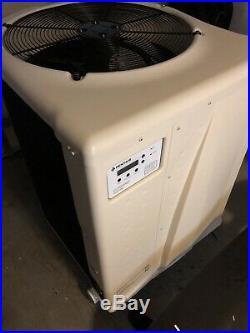 Pentair 460932 UltraTemp 108K BTU Pool and Spa Heat Pump Model 110 Almond