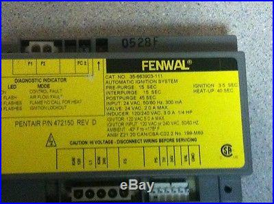 Pentair Automatic Ignition Module 36-663903-111