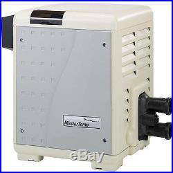 Pentair MasterTemp Low NOx 400,000 BTU Propane LPG Pool and Spa Heater 460737