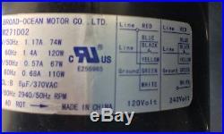 Pentair Sta-Rite 77707-0251 Air Blower MasterTemp Pool Spa Gas Heater 77707-0256