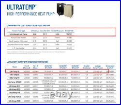 Pentair ULTRATEMP 70 HIGH-PERFORMANCE HEAT PUMP Swimming Pool Heater