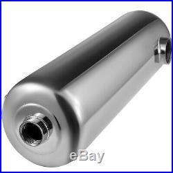Pool Heat Exchanger Tube Shell Heat Exchanger 260KBTU SS304 1 +1 1/2FPT