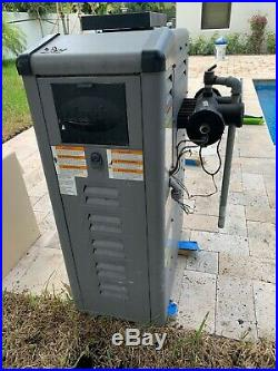 Pool Water Heater Natural Gas JANDY LRZ 125