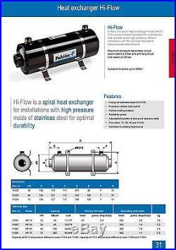 Pool heat exchanger Pahlen 11392 Hi Flow 28 kW. NIB