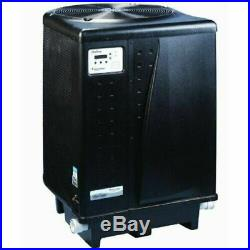 REFURB Pentair 460962 108K BTU Titanium, Digital, Pool Heat Pump, Black