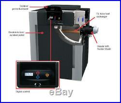 RayPak Digital 406,000 BTU Propane Gas Copper Pool Heater 009227