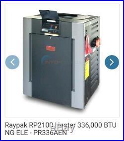 Raypak 009218 Digital Copper Tubing Natural Gas Heater
