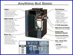 Raypak 009269 Digital Pool Heater Nat Gas C-R266A-EN-C -Elec Ign (0-1999 Feet)