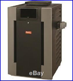 Raypak 014953 406000 BTU Digital Propane Gas Pool Heater with Cupro Nickel