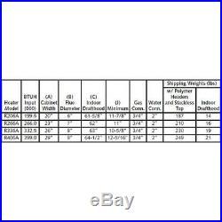 Raypak 266,000 BTU Digital Electronic Ignition Propane Pool Heater