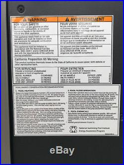 Raypak 266k BTU digital propane pool heater