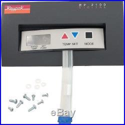 Raypak RP2100 Pool Heater Control Panel Bezel P/N- 006739F