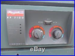 Raypak RP 2100 pool heater