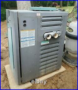 Raypak Rheem tankless natural gas pool heater Model P-M206A-EN-C