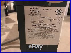 Rheem Raypak SpaPak Model M-1102-2 Electric Spa Heater 11 kW 240/60