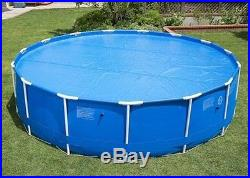 SOLAR BLANKET FOR 12 FT ROUND FRAME ABOVE GROUND SWIMMING POOL HEATING COVER