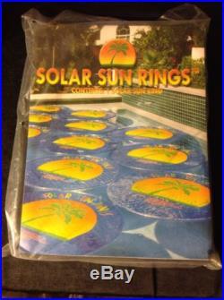 SOLAR SUN RING NIP Magnet Heats Swimming Pool Palm Tree Salt Water Or Chlorine