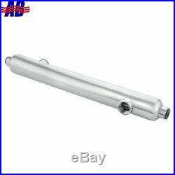 Saltwater Shell & Tube Heat Exchanger 55kBtu Titanium Opposite Side 1&3/4FPT