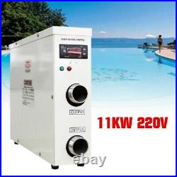 Secure Stable 220V 11KW Electric Swimming Pool Water Heater Thermostat Hot Tub