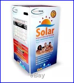 Smartpool S601P SunHeater Solar Heating System for In Ground Pool Swimming Pool=