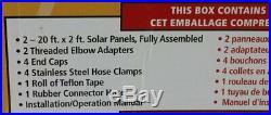 Smartpool Sunheater S421 4' x 20' Solar Heater for Above Ground Pool new