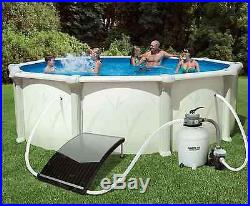 SolarCurve Above Ground Outdoor Swimming Pools Solar Water Warmer Digital Heater
