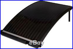 SolarCurve Solar Heater for Above Ground Pools Supplies Outdoor Digital Home