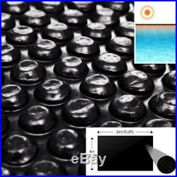 Solar Inground Swimming Pool Cover Heating Rectangular/Round Blue/Black 14 Sizes