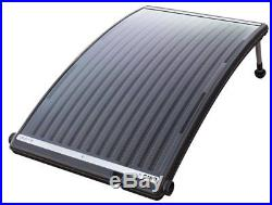 Solar Panel Pool Water Heater Above In Ground Solar Powered Kit For Intex Heat