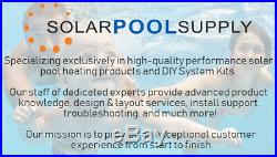 Solar Pool Heater Add-A-Row Installation Kit
