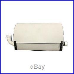 Solar Pool Heater Radiant 60' 3000W 10° Flow to 110° plus Solar Powered
