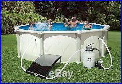 Solar Pool Heater Swimming Panel Intex Ground Hot Durable Tubing Fast Ship New