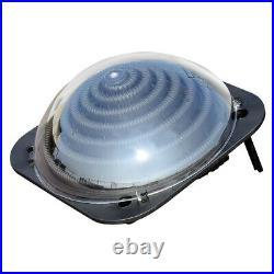 Solar Water Heater Inground & Above Ground Swimming Pool Water Heater Black
