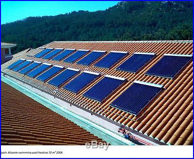 Solar Water Heater Panel 20 Tube Srcc Certified Pool