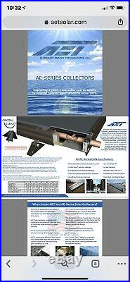 Solar Water Thermal Collector AET AE32 (Flat Plate)