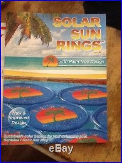 Solar sun swimming pool rings