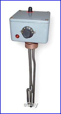Spa/Hot Tub Heater, Thermostat, 12 In, 120V VULCAN HTTR015U