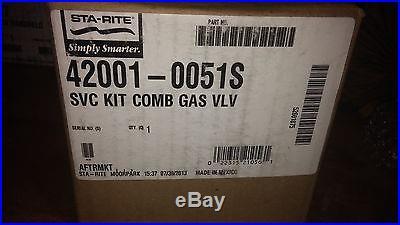 Sta-Rite Heater Gas Control Valve P/N 42001-0051S