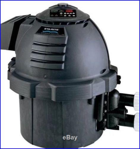 Sta-Rite Max-E-Therm Low NOx 400,000 BTU Natural Gas Pool Spa Heater SR400NA