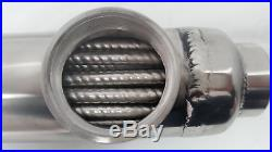 Stainless Steel Tube and Shell withOpposite Side Ports for Pools/Spas 300,000 BTU