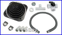 Sun2Solar Deluxe Above Ground Swimming Pool Solar Heater with Bypass Valve XD1