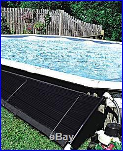SunHeater 2' x 10' (20 sq ft) Solar Panel Heater for Intex style AG Pool S210U