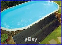 SunHeater 2 x 20 (40 sq ft) Pool Solar Panel Heating System S120U