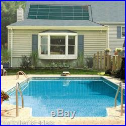SunHeater Solar Panel Solar-Power In-Ground Swimming Pool Heater Free Hot Water